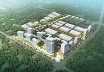 镇江句容大型园区在建仓库一期招商