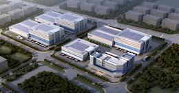 广州白云区物流中心在建350000平仓库