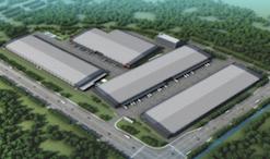 新津在建大型物流高标准仓库招租