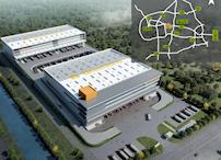 苏州产业园新建80000平高台坡道库招租