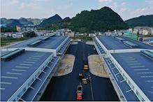 安顺西秀区新建高台丙二类双面月台28800平单层高标准丙二类仓库