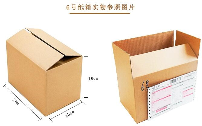 标准纸箱尺寸规格有哪些?1~12号纸箱尺寸查询