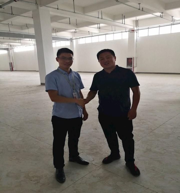 物联云仓拜访传化郑州物流港