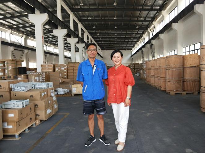 物联云仓拜访上海通贸国际供应链管理有限公司