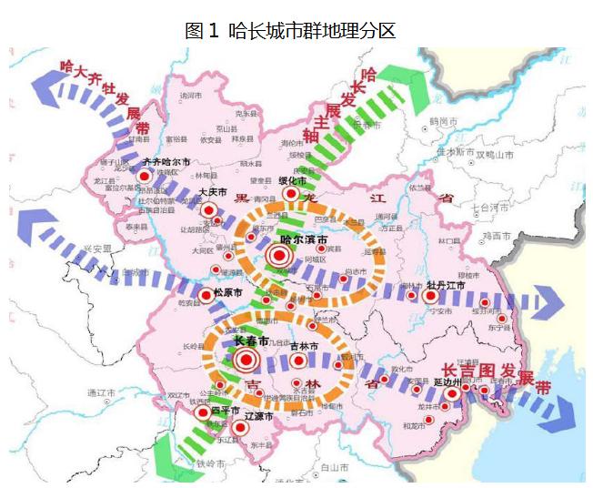 城市群区位:东北城市群的重要组成区域