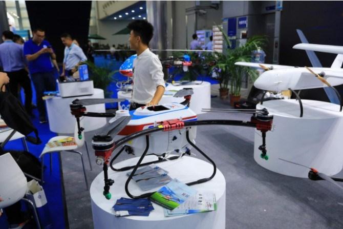 物流无人机在广州试飞运行 1.6公里3分钟到达
