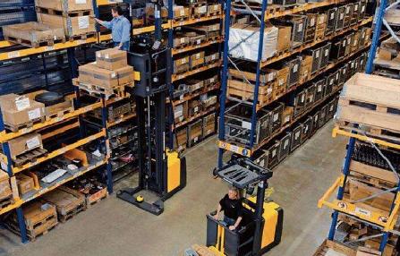 仓库管理员的绩效标准:账目、卡、物料摆放、标识……