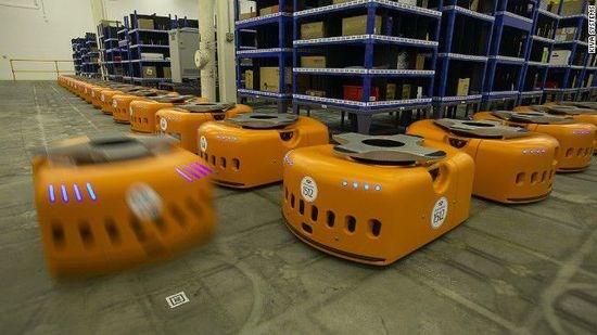 kiva仓储机器人原理是怎样的?kiva仓储机器人大拆解