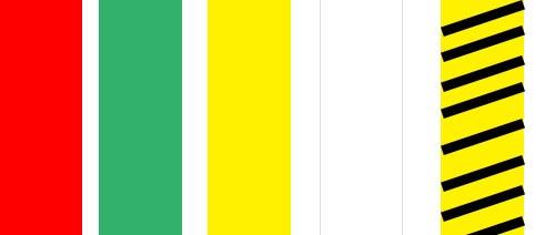 仓库区域划分胶带颜色的区别在哪?五种颜色含义详解